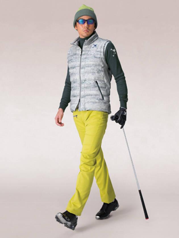冬のゴルフウェアのポイントは