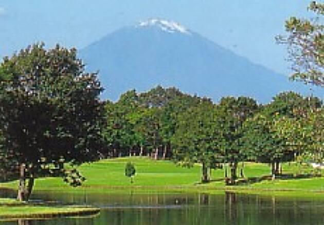 富士山、箱根連山、丹沢、相模湾を望める大パノラマ! レイクウッドゴルフクラブ