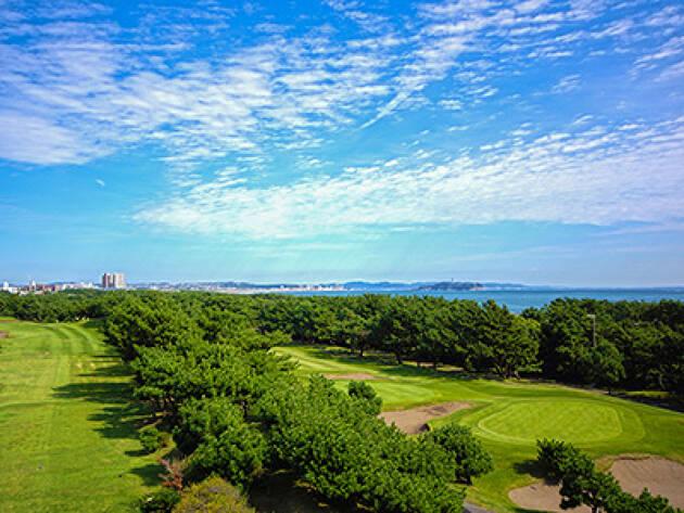 湘南の潮の香るコース「茅ヶ崎ゴルフ倶楽部」