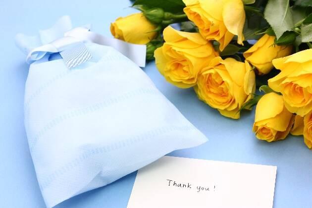 父の日にもお花とお手紙は忘れずに