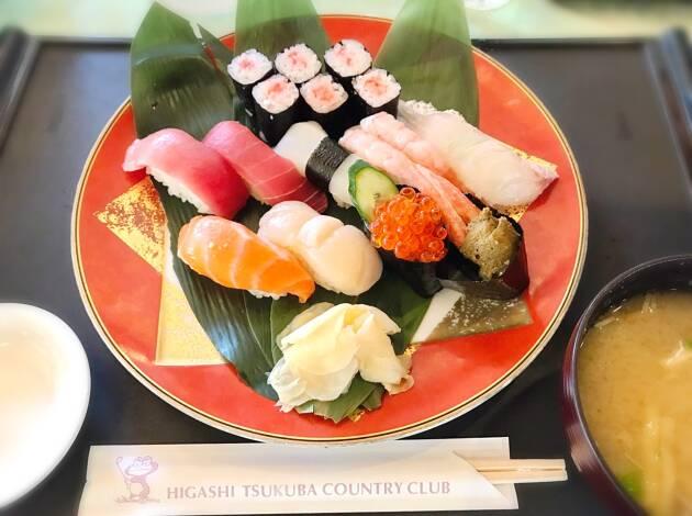 昼からお寿司!