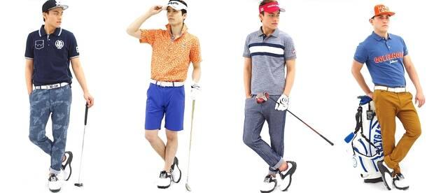 ②いつものゴルフウェアをちょっとカッコよくする 、3つの着こなしテクニック