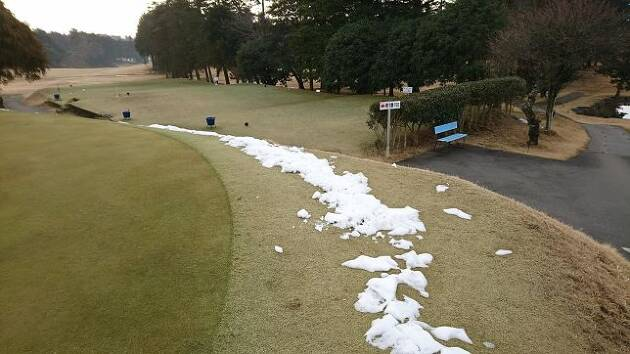 さらに、追い討ちをかけるように木曜日から金曜日にかけて雪が降りました!