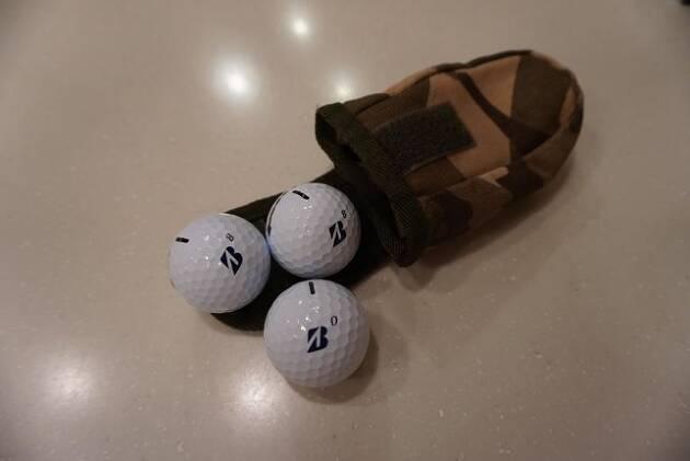 バッグの中身①ボール