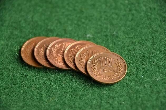 9ミリの目安は10円玉6枚分!