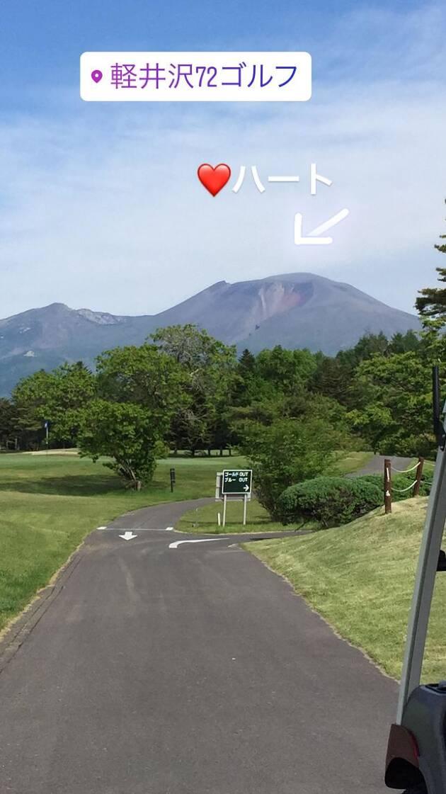 2日目は72ゴルフ西コースへ