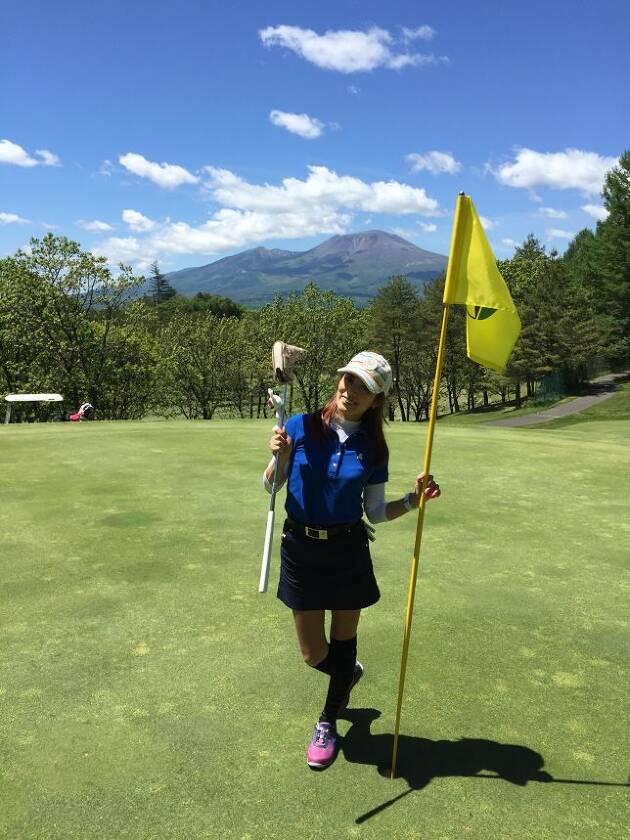 宿泊前日は軽井沢浅間ゴルフコース