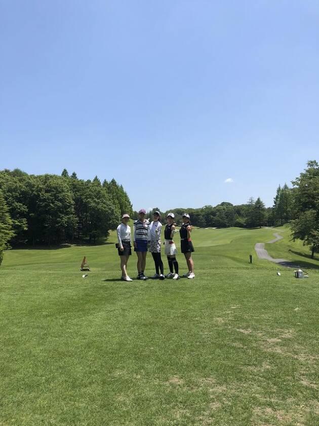 メインイベント!三枝こころちゃんとドラコン対決!!