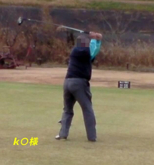昔のゴルフ仲間とラウンド