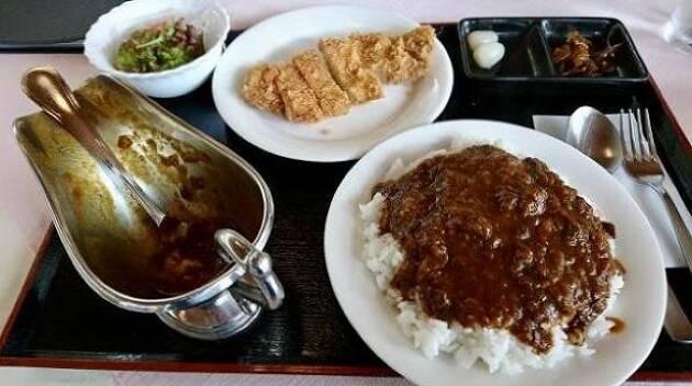 北海道「御前水ゴルフ倶楽部」スパイスの効いたカレー!