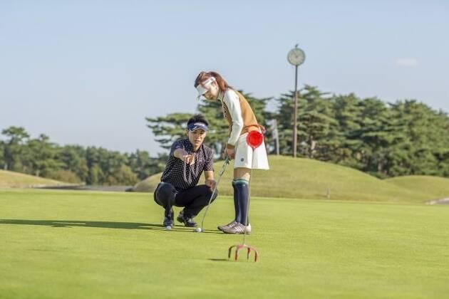 ロングパットはゴルフ場でないと感覚が分からない!