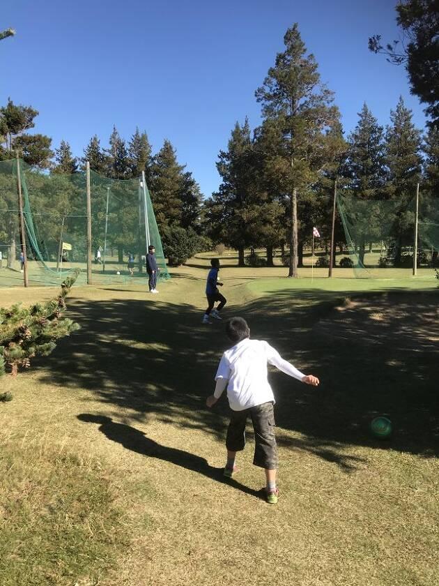 フットゴルフです。