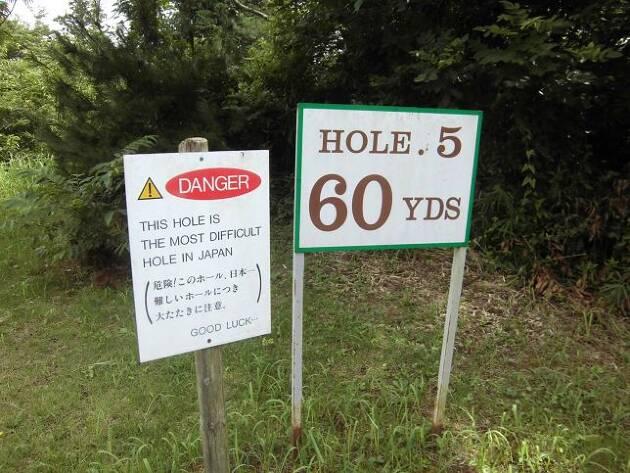 60ヤードで?