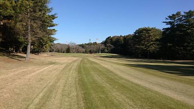 ゴルフ場で平らなライは、ほとんどありません!