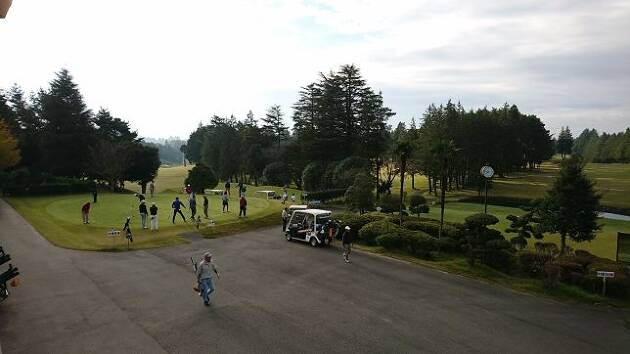 今年最後のラウンドは、「楽しいゴルフ! 来年につながるゴルフ!」を目標としました!