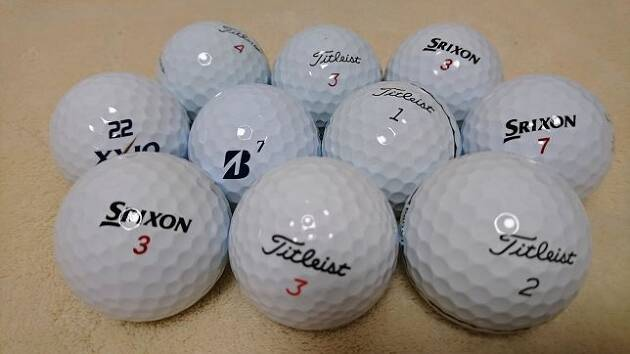 ゴルフボールは、ピンからキリまであります!