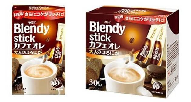 大箱のスティックコーヒーは、とてもお得です! これで、節約にも!