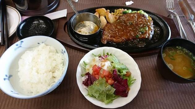 桜ヶ丘CCの4月の限定メニューは豪華でした! インパクトのあるステーキを堪能!