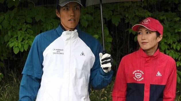 雨のゴルフも楽しく!