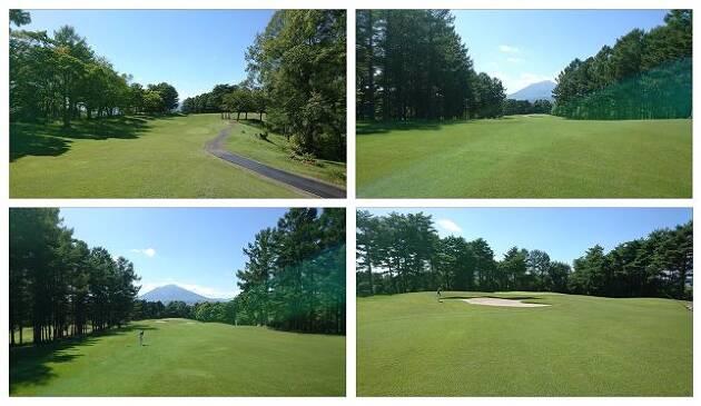南部富士「岩手山」を望む景観だが、やはりロングは難しい!