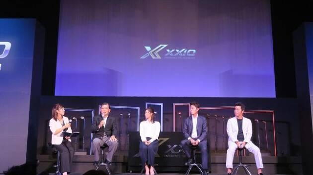 中島常幸プロも加わり、トークショーを盛り上げました