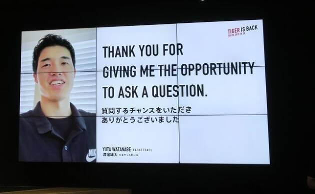 アスリートたちが、ビデオレター形式で質問!