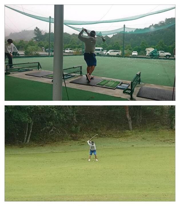 また、アイアンのキレも抜群! アプローチの寄せも完璧! まったく隙がないゴルフを展開!