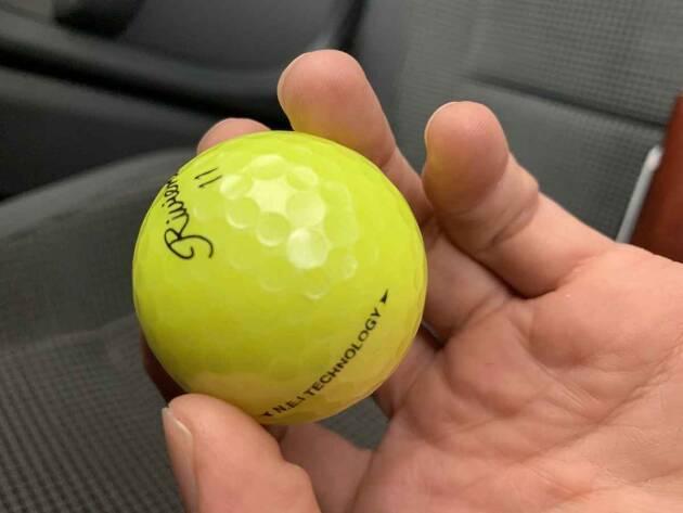 ゴルフショップオリジナルボールがオススメ