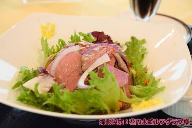 お楽しみのお昼は「ローストビーフ丼」