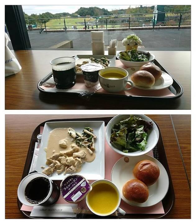 昼食券が付いていて、昼食をいただきました!