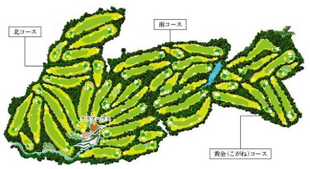 栃木県随一の45ホールを誇る!
