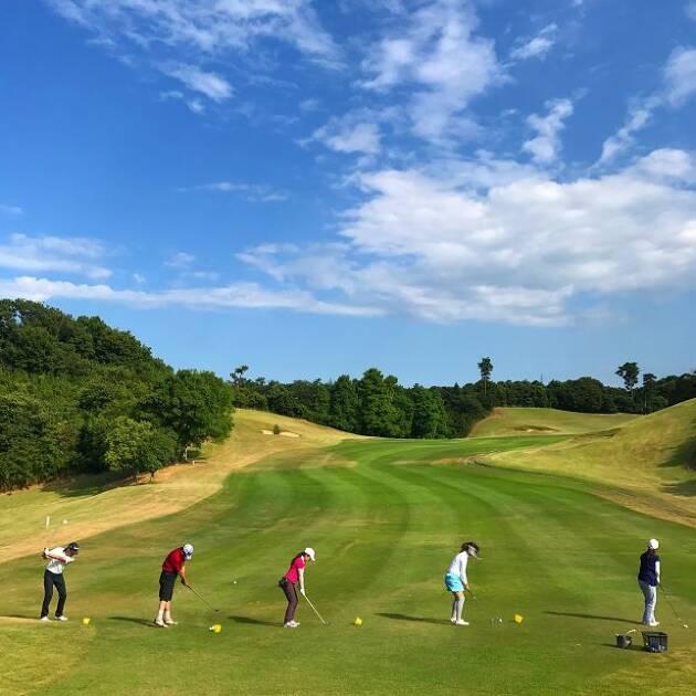 冬ゴルフが好調な人は、秋にしっかり練習をした人
