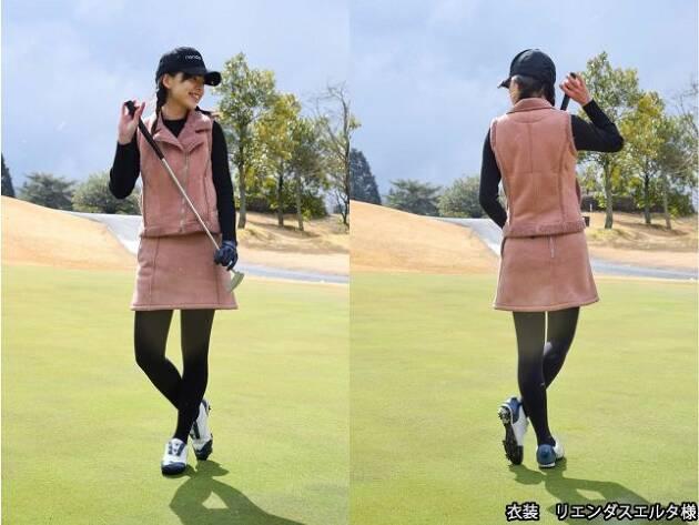 ホシノカオリの「今日のゴルフコーデ!」