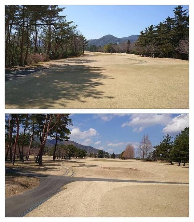 宝塚ゴルフ倶楽部のラウンドを終わって……