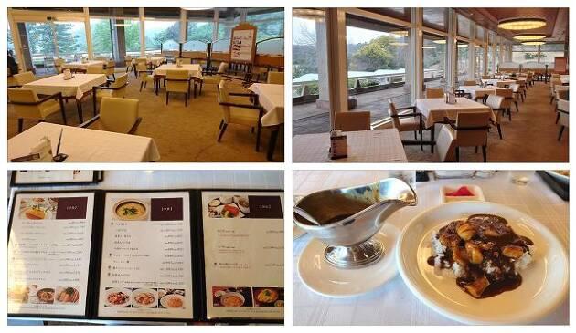 ここで、ひと休みしてレストランと昼食をご紹介!