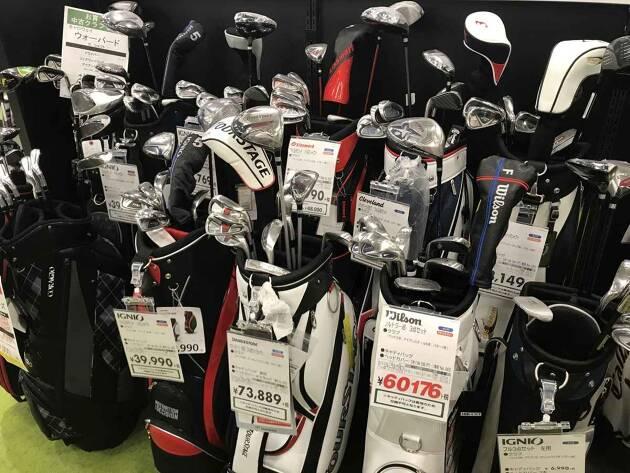 自分のクラブが欲しい! ゴルフクラブはどこで買えるの?