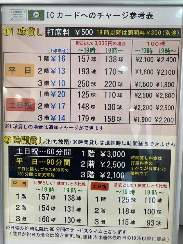 豊富な料金システム