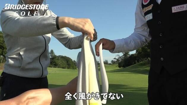 風を通しにくいストレッチ防風セーター!