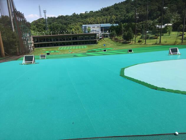 阪奈ゴルフショートコースはショートコースだけじゃなく練習場も充実
