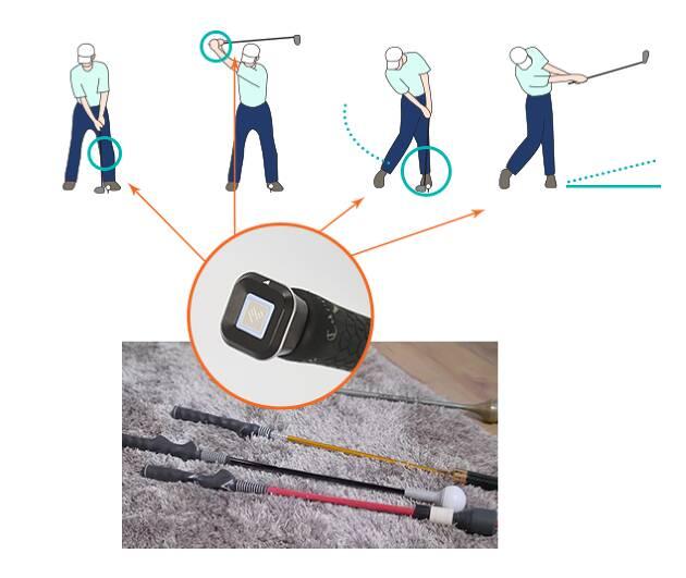【ヤベツジャパン】センサーをグリップエンドに装着し、スイングデータの可視化とシミュレーションゴルフが可能(PHIGOLF)