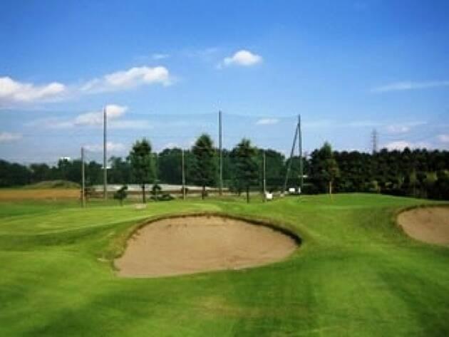 難易度高い赤坂ゴルフコースにチャレンジ