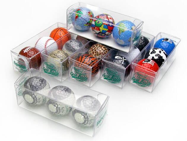 面白いデザインのボールがある