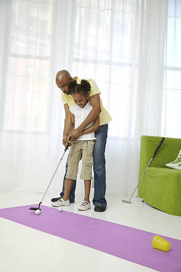 暇さえあればゴルフをするようにする