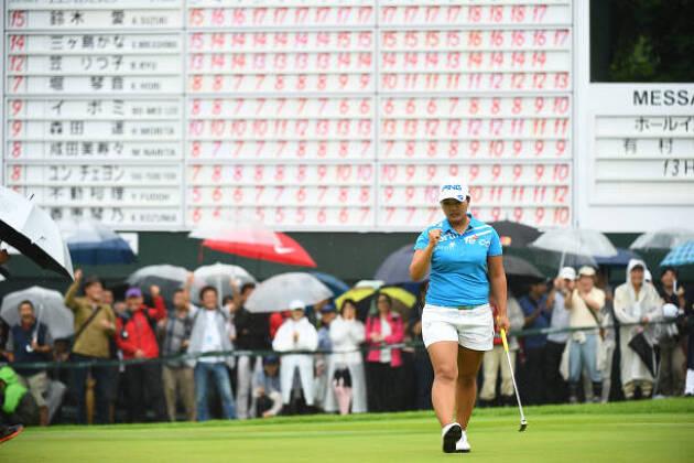 熾烈な日本LPGAツアー