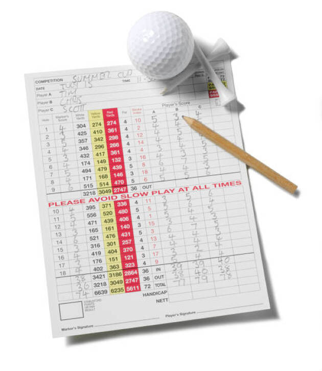 接待ゴルフと言えども、真剣にプレーしたいという方もいます!