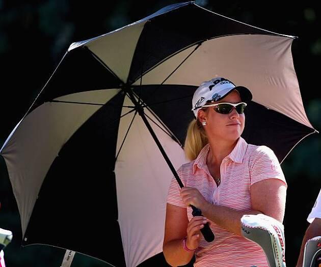 光の強度は日傘の下では10分の1以下に減少する!