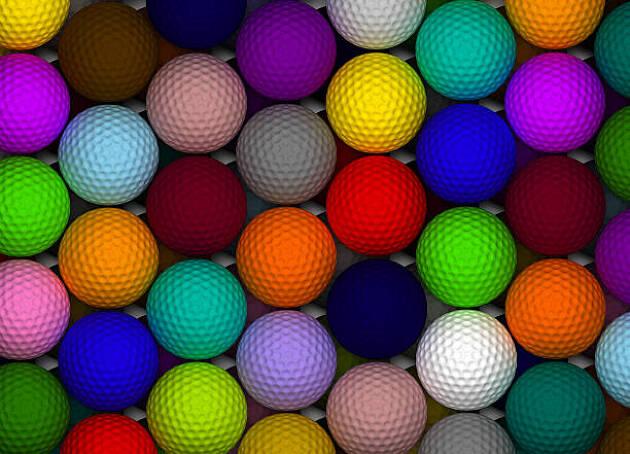 他にもいろいろなカラーボールが