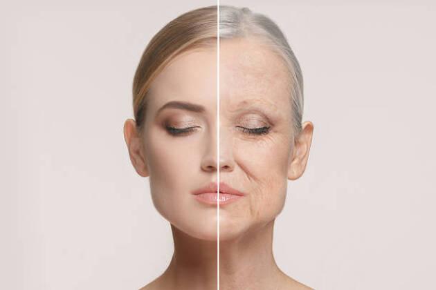 シワやたるみの肌老化。なんと原因の8割が紫外線!?