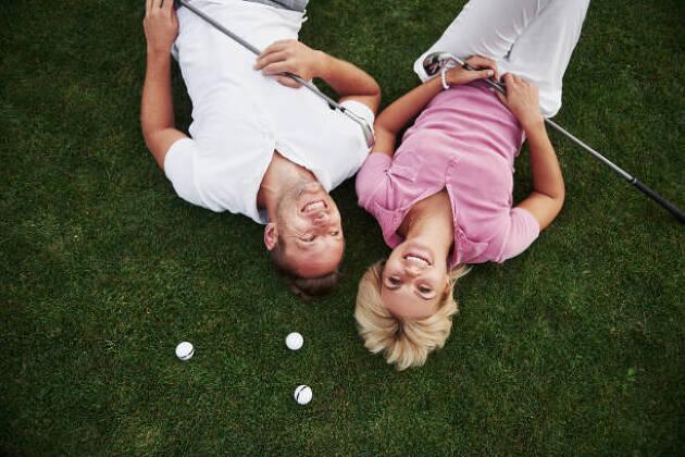 ゴルフは男女が一緒に楽しめるスポーツ!