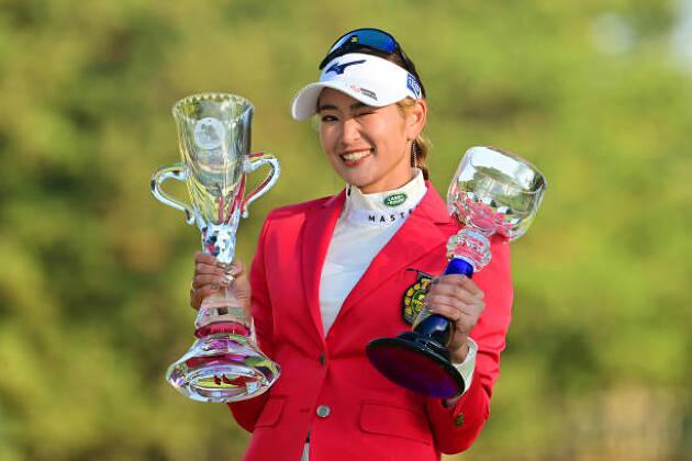 国内女子ツアーは英莉花サマが完全優勝で2020年を締めくくる♪